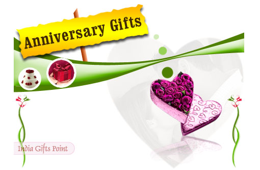 Anniversary Gifts - Send online Best Anniversary Gifts Hamper to India