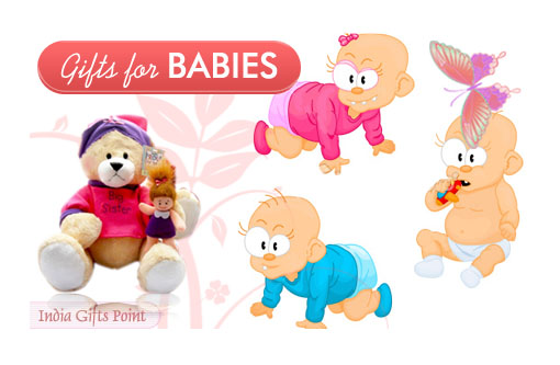 Gifts For Baby - Send Gifts for Baby to India