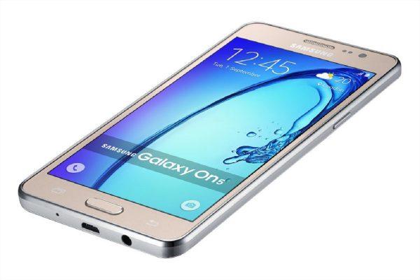 Samsung On5 Pro Gold Photos